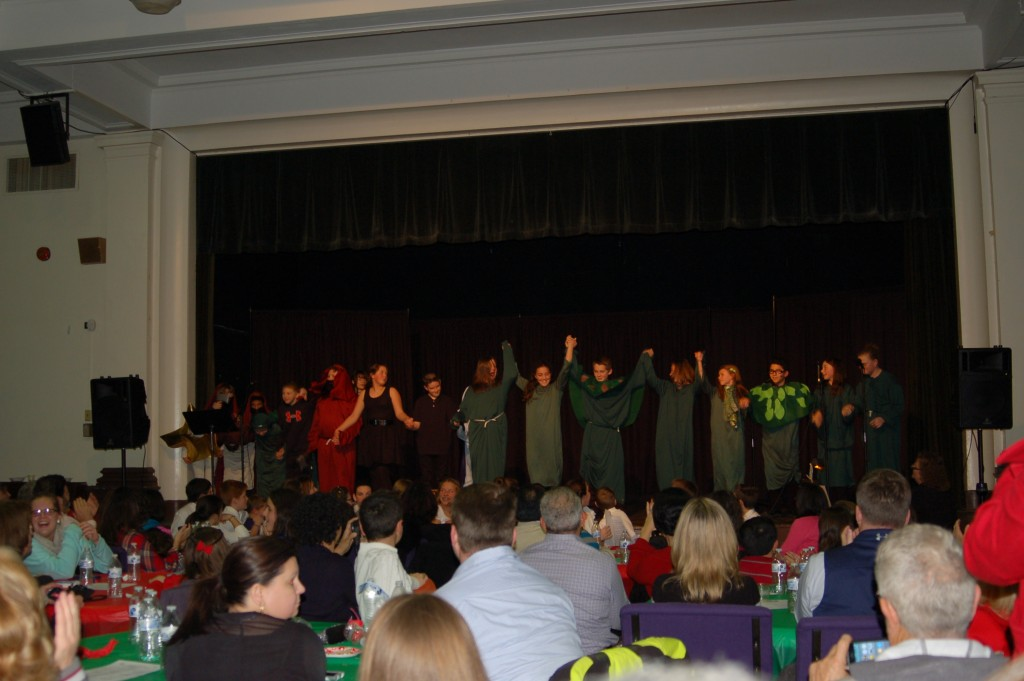 Pot Luck Performances by the 6th & 7th Grades
