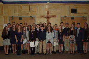 National Junior Honor Society Members