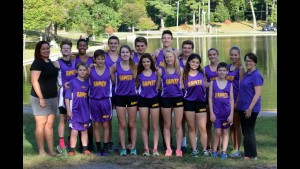 Cross Country Team 2015