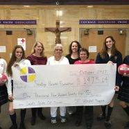 Volleyball Donates to Mollie Wilmot 2017